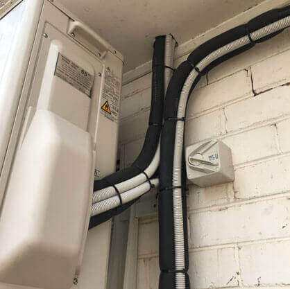 Darwin Electricians and Air Conditioning Gallery - Airconditioning Set-up and Wiring