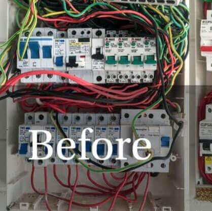 Darwin Electricians and Air Conditioning Gallery - Electrical Junction Box Before Maintenance