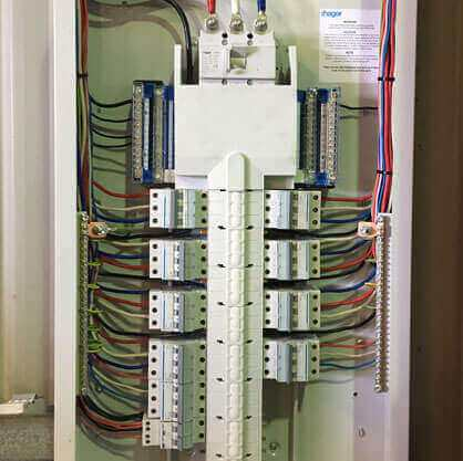 Darwin Electricians and Air Conditioning Gallery - Electrical Switch Board Set-up